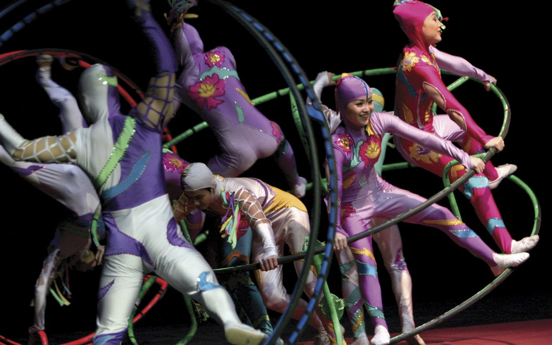 Golden Dragon Acrobats coming to Rexburg