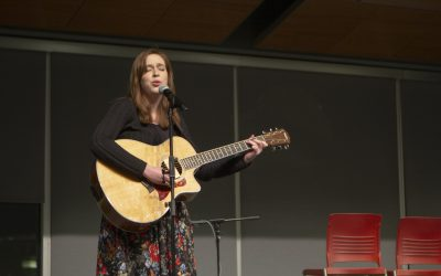 Acoustic Café entertained many with music, laughs and flying corn dogs