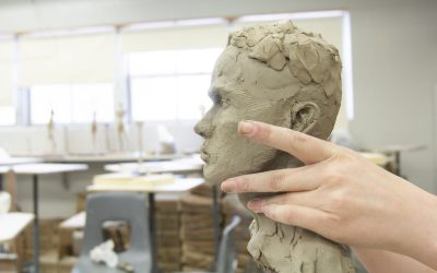 Growing and learning through paint and clay