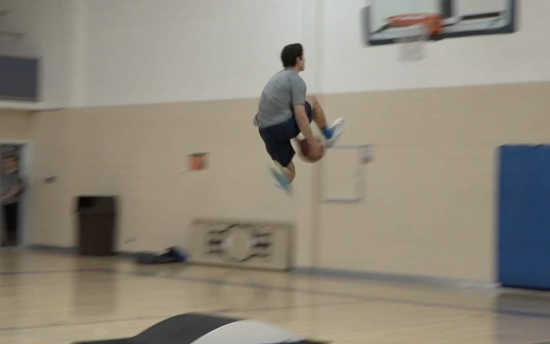 WATCH: Students prepare for Friday's 3-Point and Slam Dunk contests