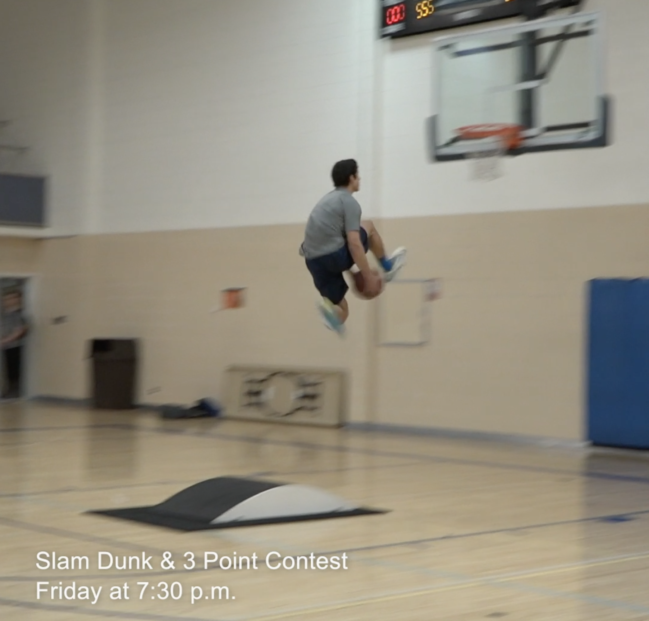 5a23ce11e7 WATCH: Students prepare for Friday's 3-Point and Slam Dunk contests
