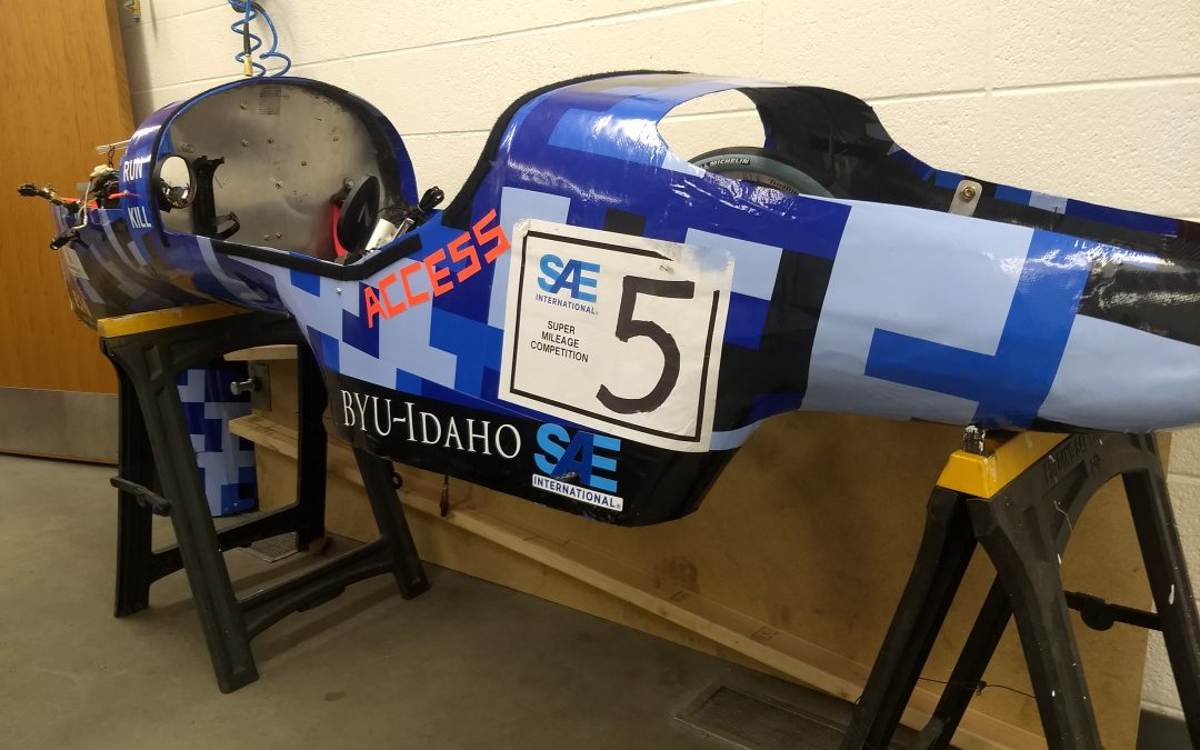 Supermileage team hopes to double last year's 622-mpg result
