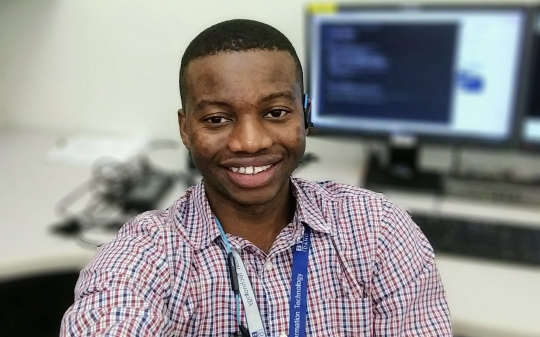 Student's love for problem-solving guides him to BYU-Idaho