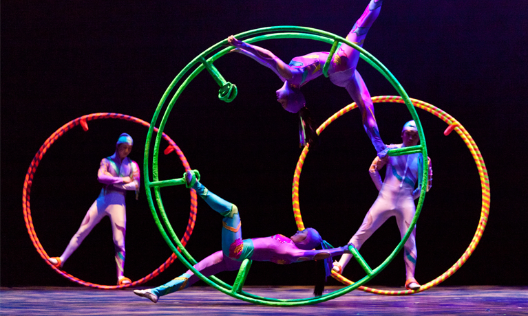 Golden Dragon Acrobats 'on the edge of their seats'