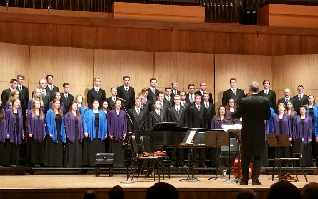 Jazz and praise combine in choir performance