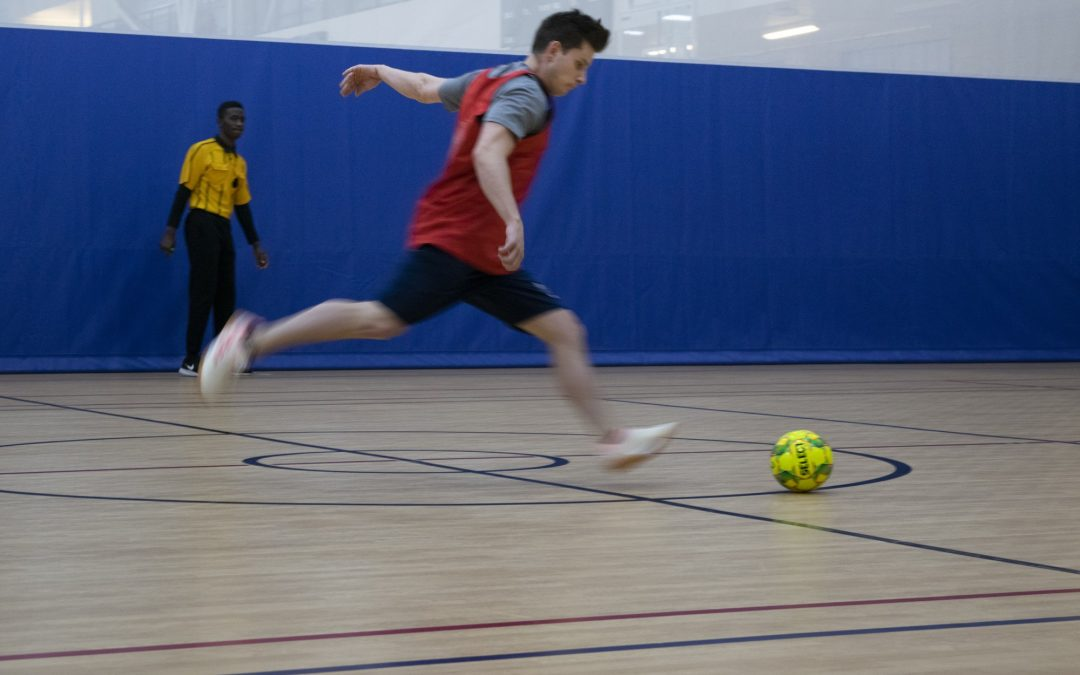"""Escape the weather with """"futsal"""""""