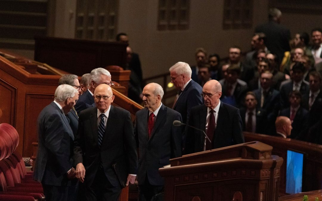 GENERAL CONFERENCE April 2019: Did you miss the Priesthood Session last night? Read here to find out about it!