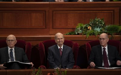 GENERAL CONFERENCE APRIL 2019: Church leaders share message to live the gospel despite the challenges found in mortal life