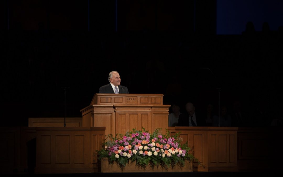 BYU-Idaho receives glimpse of the Rome Temple at Sunday's devotional