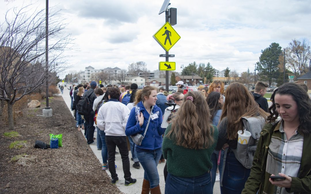 Students march to reform honor code