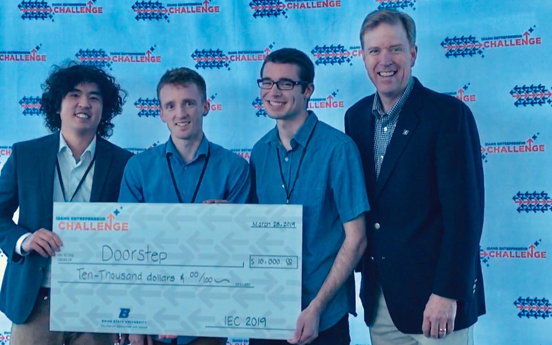 Winning $10,000 for a job that they love