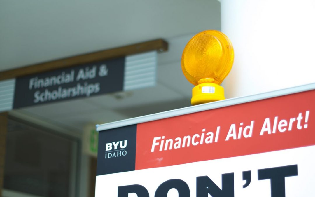 The Financial Aid Office is getting a makeover
