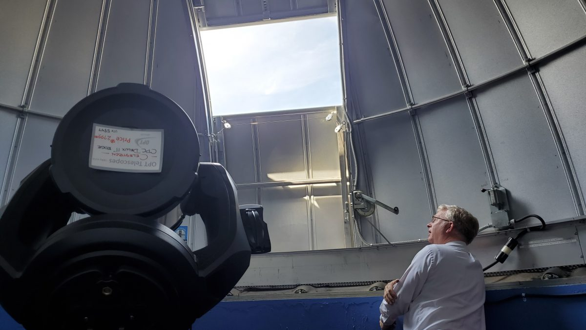 A closer look at the Romney observatory - BYU-I Scroll