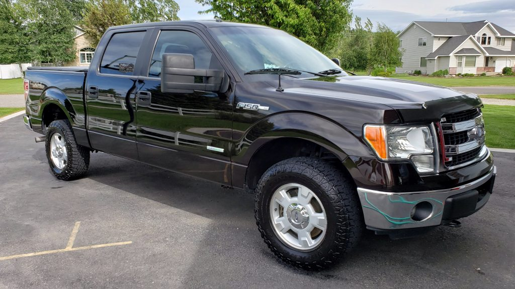 Previous finished truck detail by Jamison.