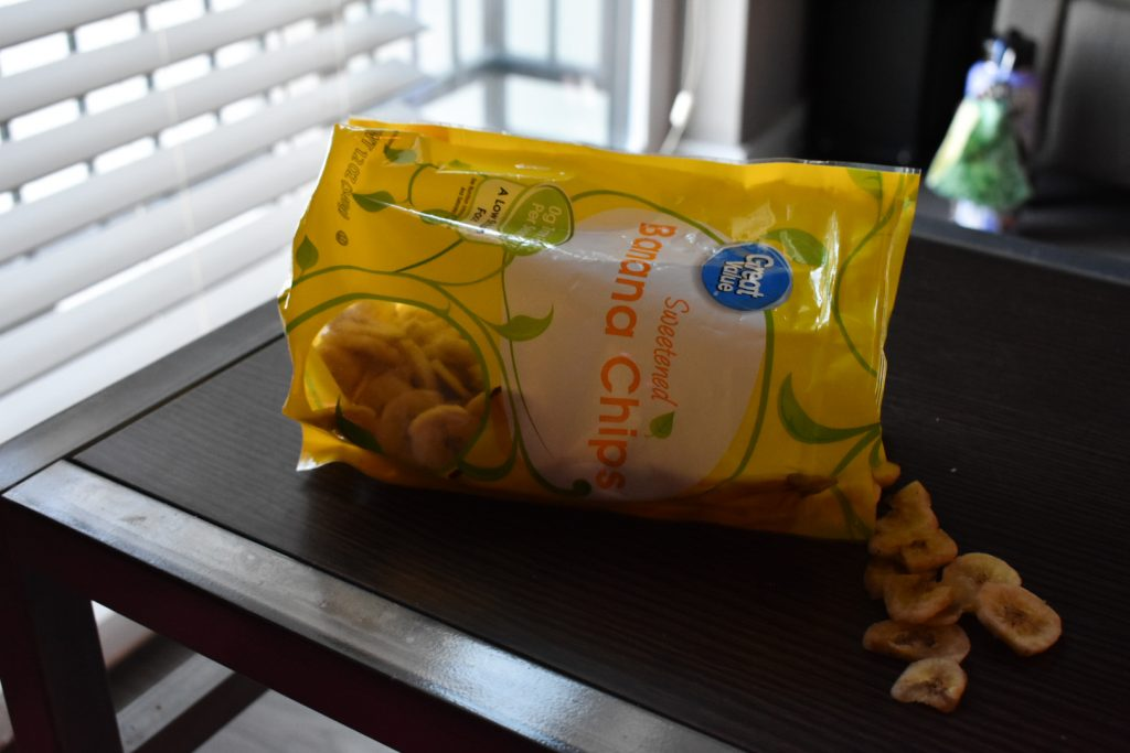 A trail of healthy chips