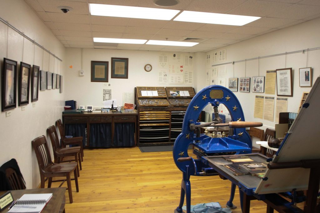 The Iron Acorn Press has been open at BYU-Idaho since 2009.