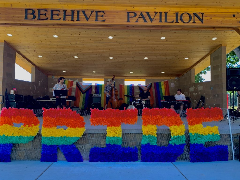 local band performs for Rexburg Pride