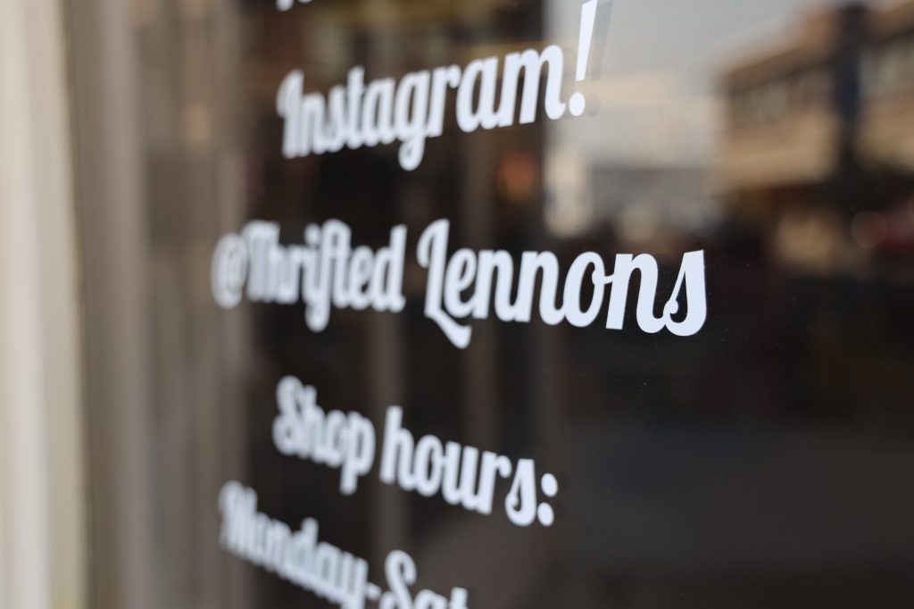 Thrifted Lennons is at 22 College Ave, Rexburg, ID 83440.