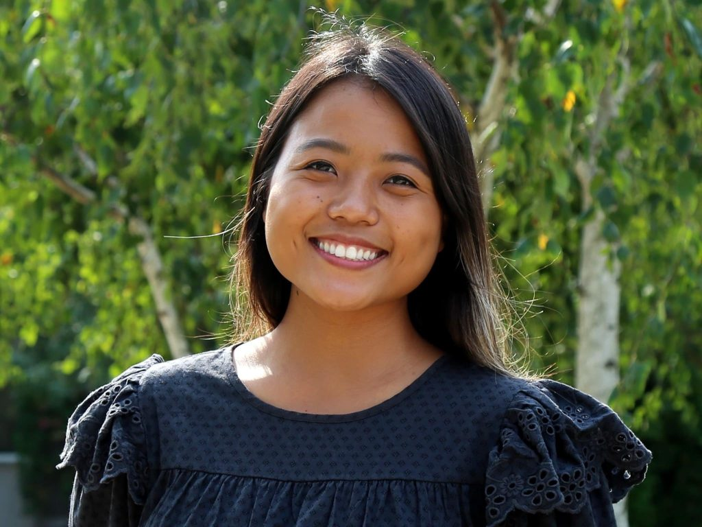 Neh Meh, a Karenni refugee from Myanmar, is a former BYU-Idaho student, current graduate student, and advocate for refugees.